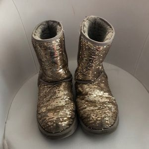 Sequin boots!
